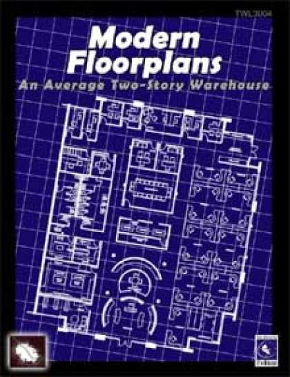 Role Playing Games - Modern Floorplans: Two-Story Warehouse