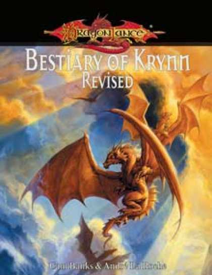 Role Playing Games - Bestiary of Krynn, Revised