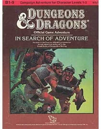 Role Playing Games - In Search of Adventure