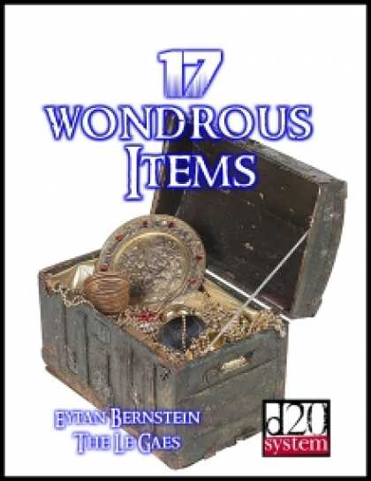 Role Playing Games - 17 Wondrous Items