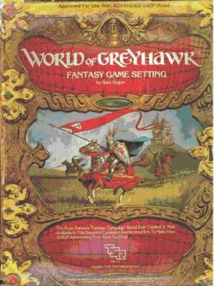 Role Playing Games - World of Greyhawk Fantasy Game Setting