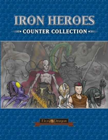 Role Playing Games - Iron Heroes Counter Collection