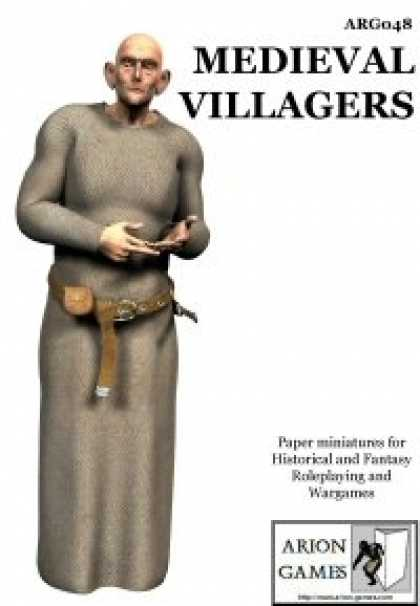 Role Playing Games - Medieval Villagers Set
