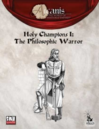 Role Playing Games - Holy Champions I: The Philosophic Warrior