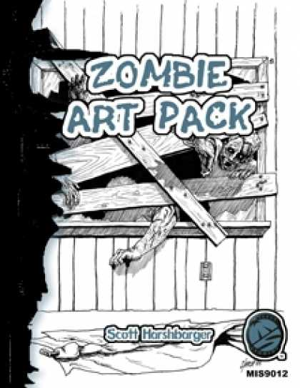 Role Playing Games - Zombie Art Pack