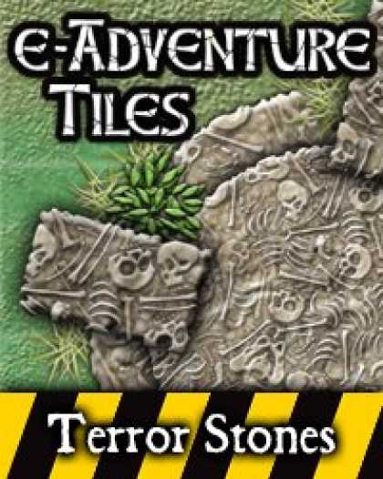 Role Playing Games - e-Adventure Tiles: Hazards - Terror Stones