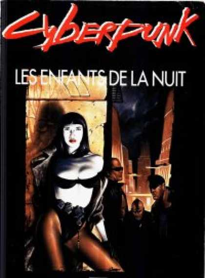 Role Playing Games - Les Enfants de la Nuit (Night's Edge in French)