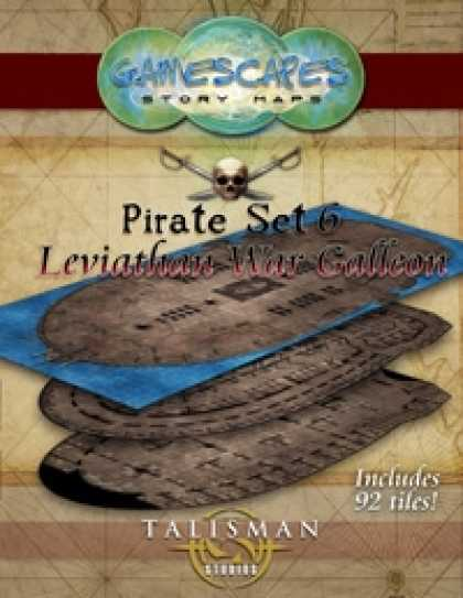 Role Playing Games - Gamescapes: Story Maps, Pirate Set 6