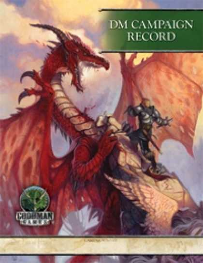 Role Playing Games - DM Campaign Record (4E)