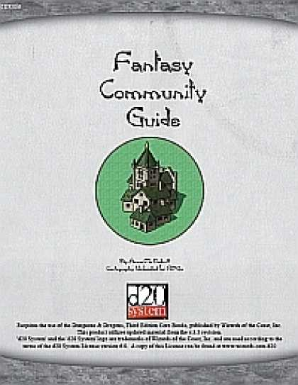Role Playing Games - Fantasy Community Guide: Hamlets, Thorps & Villages