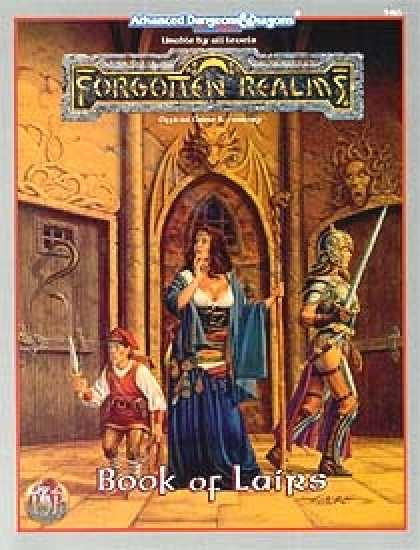 Role Playing Games - Book of Lairs
