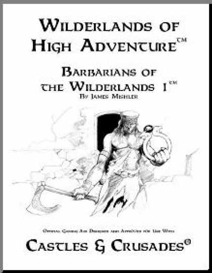 Role Playing Games - Castles & Crusades: Barbarians of the Wilderlands 1