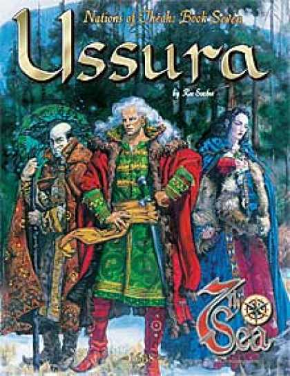 Role Playing Games - Nations of Théah: Book 7: Ussura
