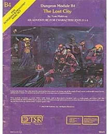 Role Playing Games - B4 - The Lost City