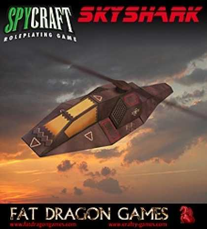 Role Playing Games - Skyshark Stealth Helicopter