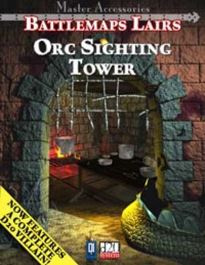 Role Playing Games - Battlemaps Lairs: Orc Sighting Tower