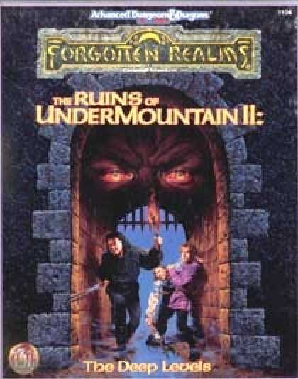 Role Playing Games - Ruins of Undermountain II: The Deep Levels