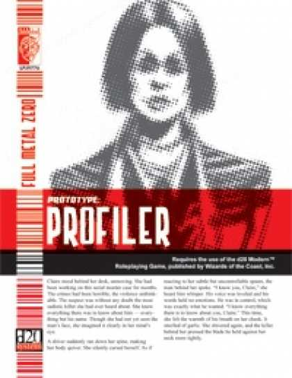 Role Playing Games - Prototype: Profiler