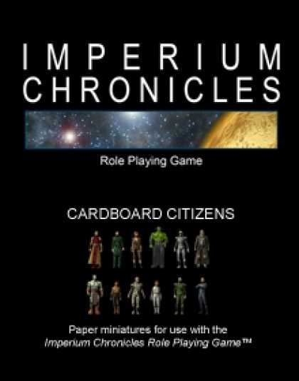 Role Playing Games - Imperium Chronicles Role Playing Game - Cardboard Citizens
