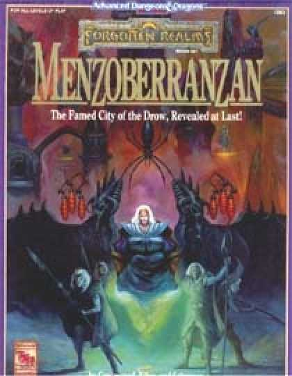 Role Playing Games - Menzoberranzan Campaign Set