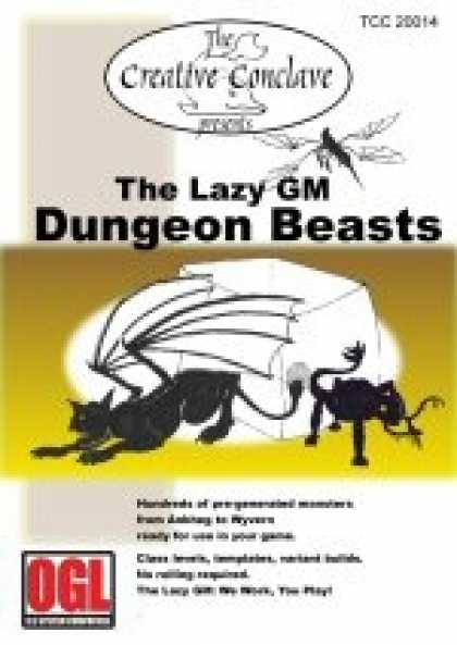 Role Playing Games - The Lazy GM: Dungeon Beasts