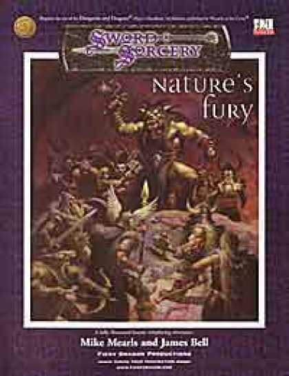Role Playing Games - Nature's Fury
