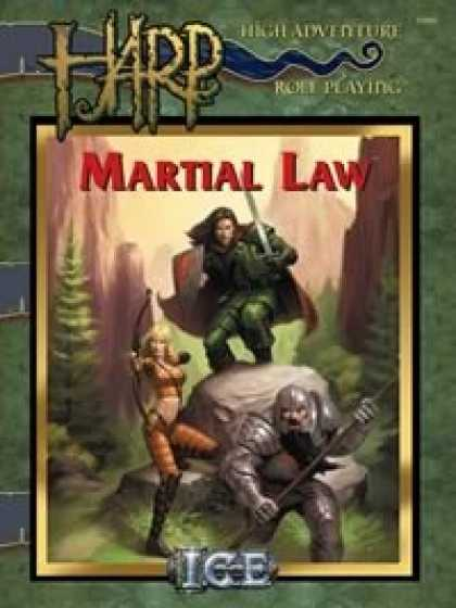 Role Playing Games - HARP Martial Law PDF