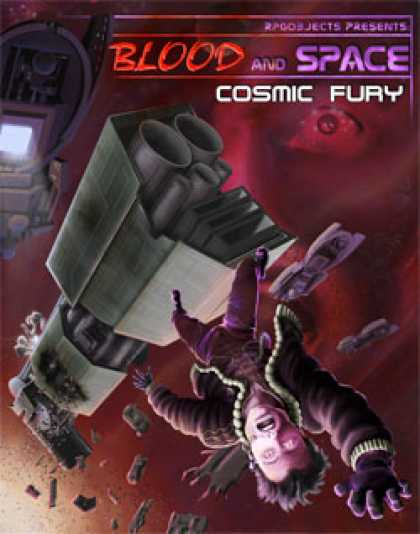 Role Playing Games - Blood and Space 2: Cosmic Fury