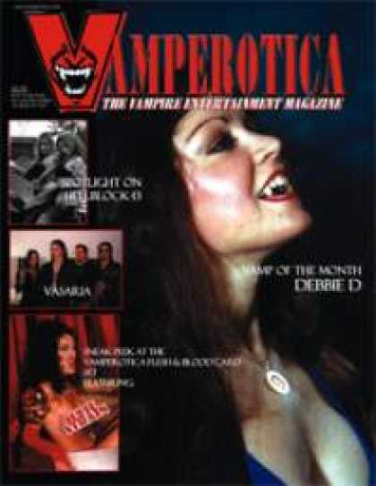 Role Playing Games - Vamperotica Magazine V1N04