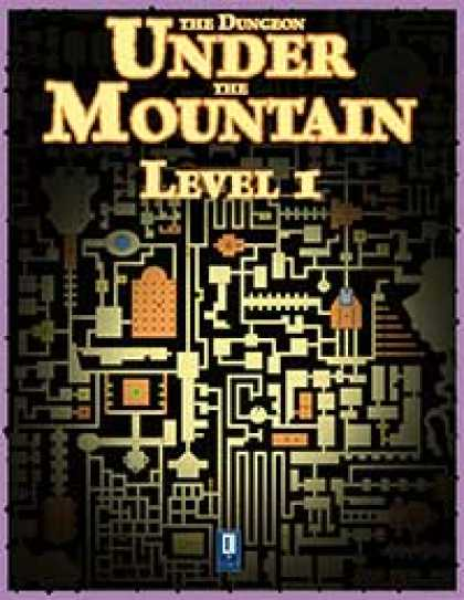 Role Playing Games - The Dungeon Under the Mountain, Level 1