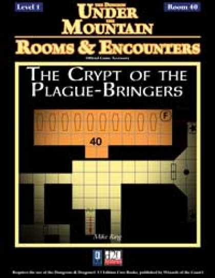 Role Playing Games - Rooms & Encounters: The Crypt of the Plague-Bringers