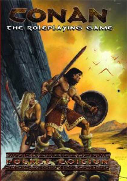 Role Playing Games - Conan the Roleplaying Game (pocket Version)