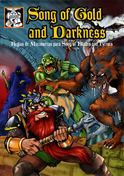 Role Playing Games - Song of Gold and Darkness en Castellano-SPANISH LANGUAGE VERSION