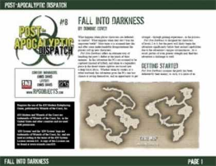 Role Playing Games - Post-Apocalyptic Dispatch (#8): Fall Into Darkness