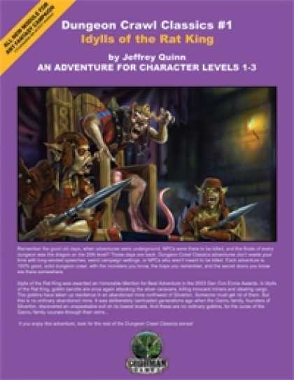 Role Playing Games - Dungeon Crawl Classics #1: Idylls of the Rat King