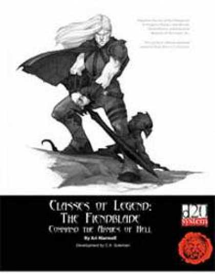 Role Playing Games - Lion's Den Press: Classes of Legend: The Fiendblade