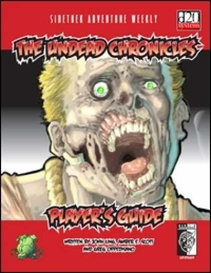 Role Playing Games - Sidetrek Adventure Weekly 2: The Undead Chronicles PlayerÂ's Guide