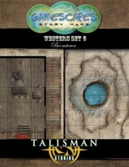 Role Playing Games - Gamescapes: Story Maps, Western Set 5