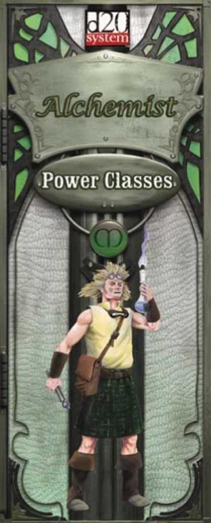 Role Playing Games - Power Class Alchemist