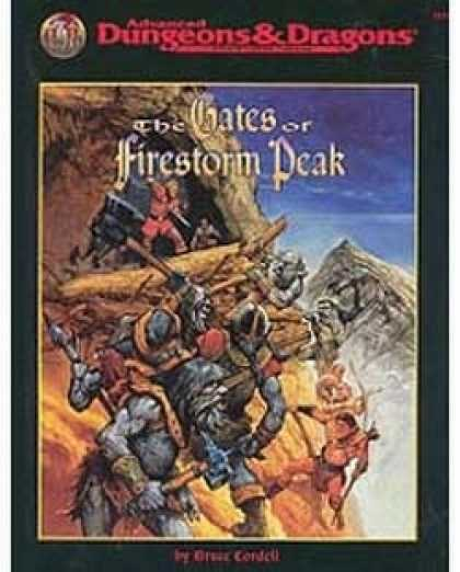 Role Playing Games - The Gates of Firestorm Peak