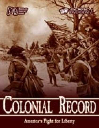 Role Playing Games - Coyote Trail: Colonial Record