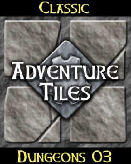 Role Playing Games - Classic Adventure Tiles: Dungeons 03