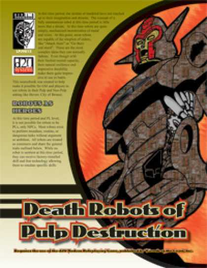 Role Playing Games - Death Robots of Pulp Destruction