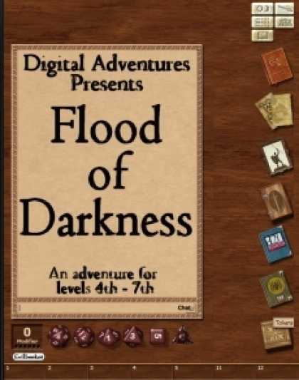 Role Playing Games - Flood of Darkness Fantasy Grounds Adventure