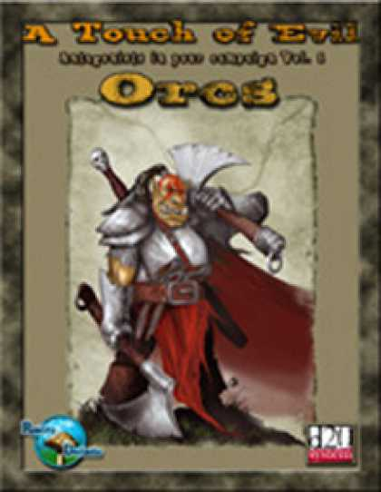 Role Playing Games - RDP: A Touch of Evil, Vol 1: Orcs