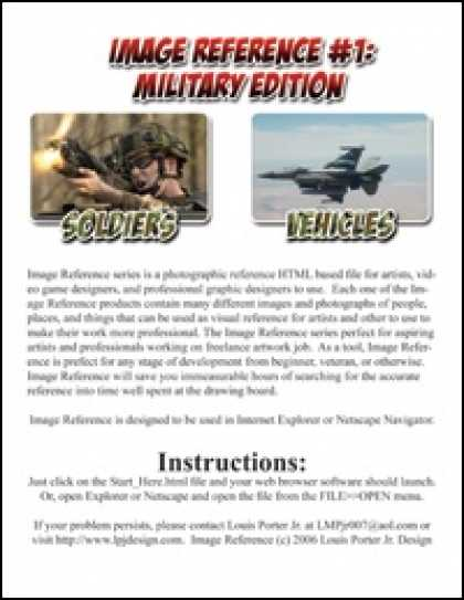 Role Playing Games - Image Reference 01: Military Edition