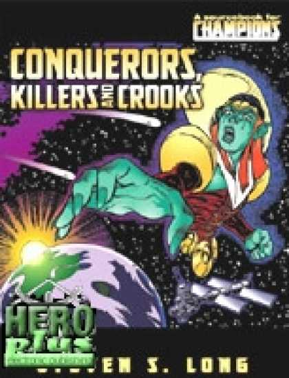 Role Playing Games - Conquerors, Killers and Crooks - PDF