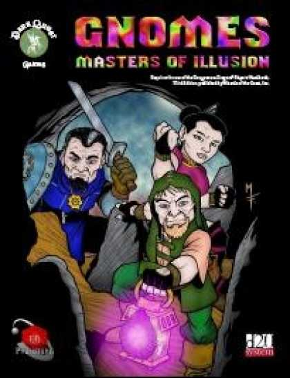 Role Playing Games - Gnomes - Masters of Illusion