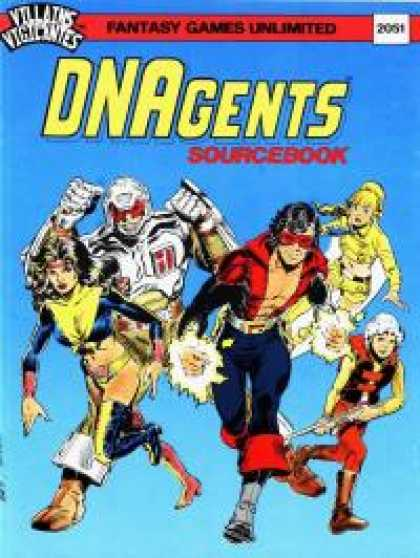 Role Playing Games - The DNAgents Sourcebook