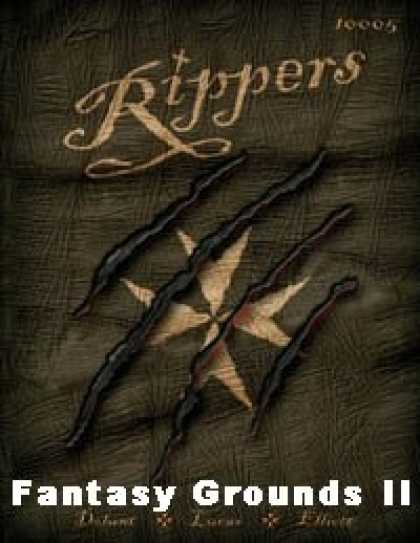Role Playing Games - Savage Worlds: Rippers Conversion for Fantasy Grounds II